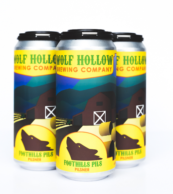 Wolf's Hollow - Foothills Pils 4PK CANS