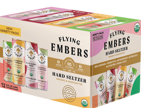 Flying Embers - Seltzer 12PK CANS