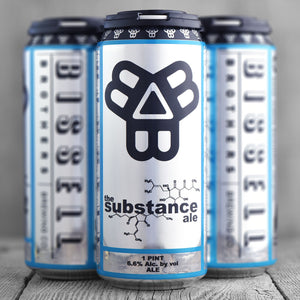 Bissel Brothers Brewery - The Substance Ale 4PK CANS - uptownbeverage