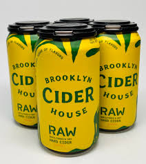 Brooklyn Cider - Raw 4PK CANS - uptownbeverage