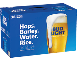 Bud Light - 36PK - uptownbeverage