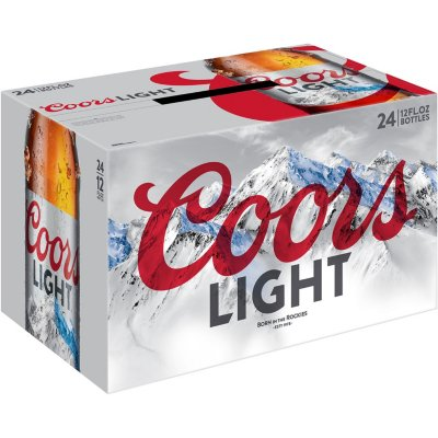 Coors Light - 24PK BTL - uptownbeverage