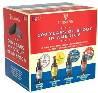 Guinness - 200 Years Of Stout 12PK BTL - uptownbeverage