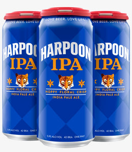 Harpoon - IPA 4PK CANS - uptownbeverage