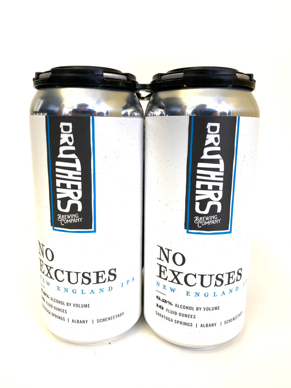 Druthers Brewing - No Excuses 4PK CANS