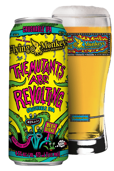 Flying Monkey - The Mutants Are Revolting - uptownbeverage