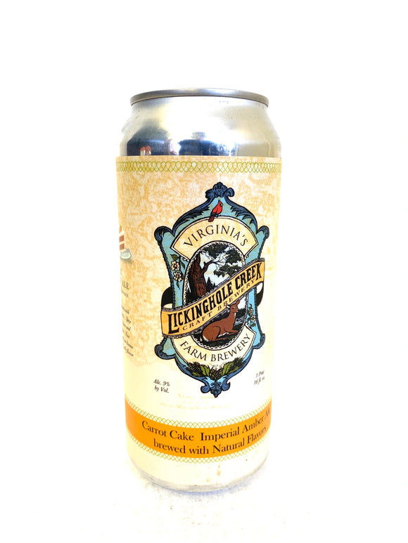 Lickinghole Creek - Carrot Cake 4PK CANS