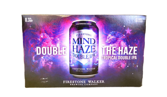 Firestone - Mind Haze Double IPA 6PK CANS