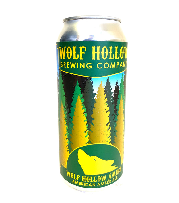 Wolf's Hollow - Amber Ale 4PK CANS