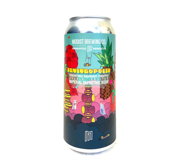 Modist Brewing - Fruitopolis 4PK CANS