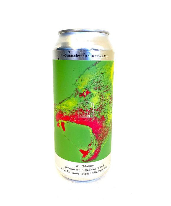 Commonwealth Brewing - WolfMother 4PK CANS