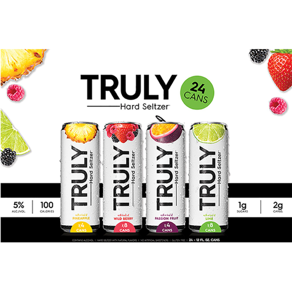 Truly Seltzer DO NOT TRACK CANS - uptownbeverage