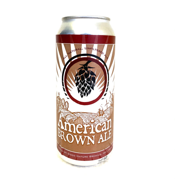 Good Nature Brewing - American Brown Ale Single CAN