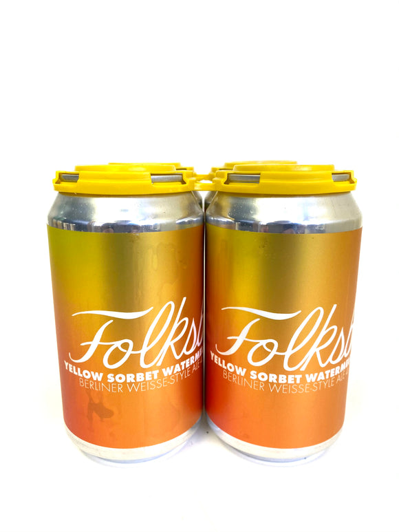 Folksbier - Glow Up Yellow 4PK CANS