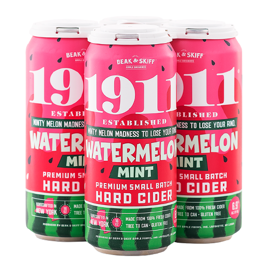 1911 Cider - Watermelon Mint 4PK CANS - uptownbeverage