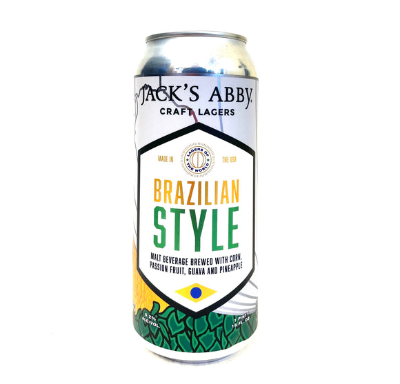 Jack's Abby - Brazilian Style Single CAN