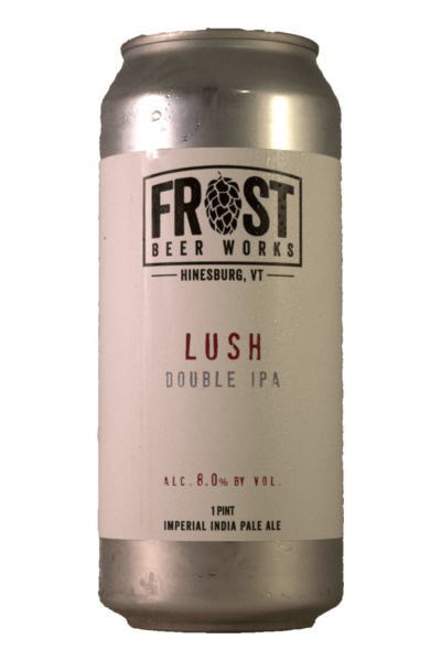 Frost Beer Works - Lush 4PK CANS - uptownbeverage