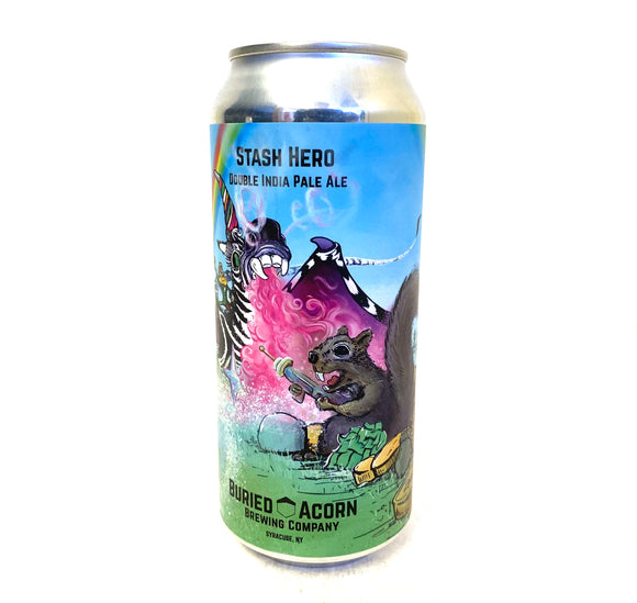 Buried Acorn Brewing - Stash Hero 4PK CANS