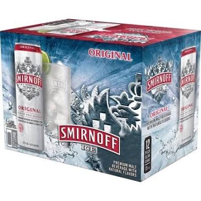 Smirnoff - Original Ice 12PK CANS
