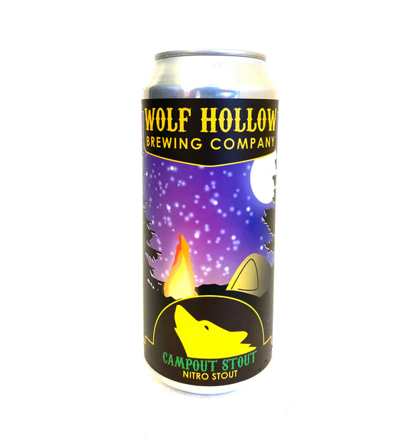 Wolf Hollow - Campout Nitro Stout 4PK CANS