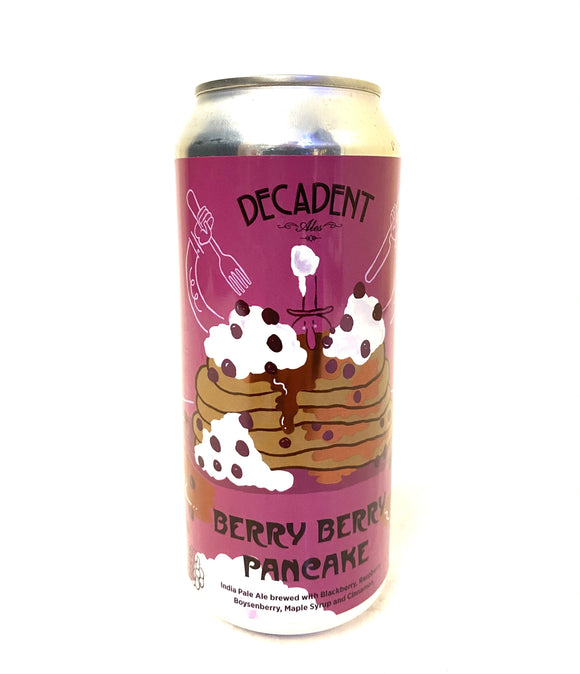 Decadent Ales - Berry Berry Pancake 4PK CANS