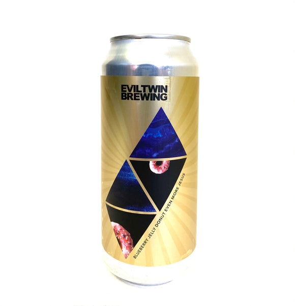Evil Twin Brewing - Blueberry Jelly Donut Even More Jesus Single CAN