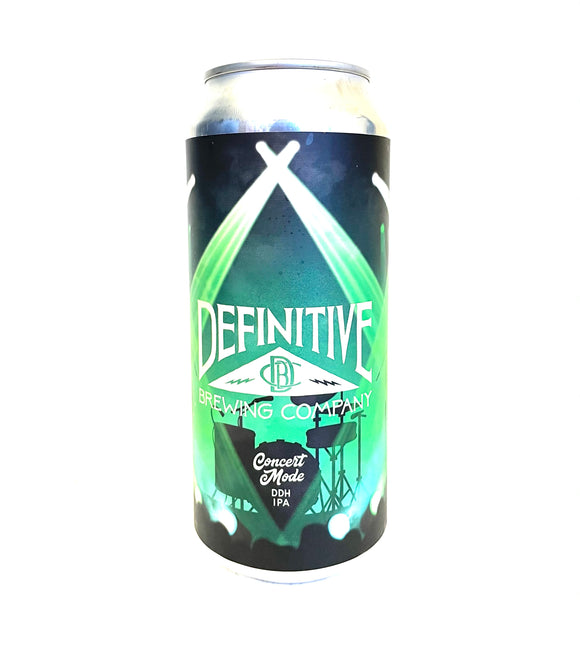 Definitive Brewing - Concert Mode Single CAN