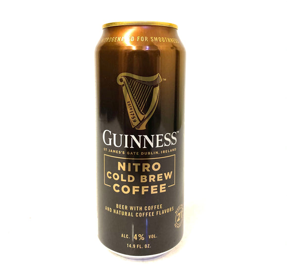 Guinness - Nitro Cold Brew Coffee Single CAN