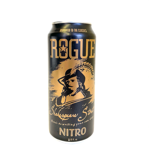Rogue - Shakespeare Nitro Stout 4PK CANS