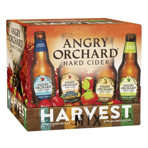 Angry Orchard - Fall Variety 12PK BTL - uptownbeverage