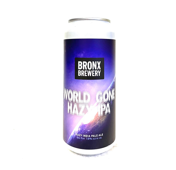 Bronx Brewery - World Gone Hazy 4PK CANS