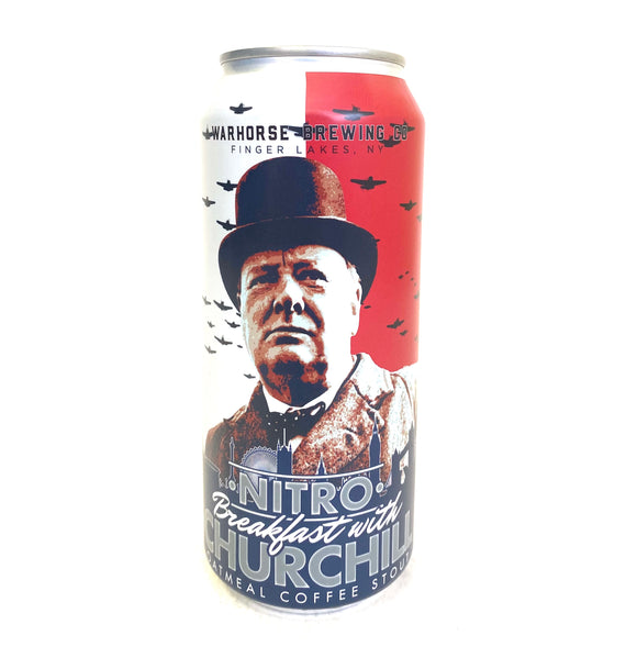War Horse - Nitro Breakfast With Churchill 4PK CANS