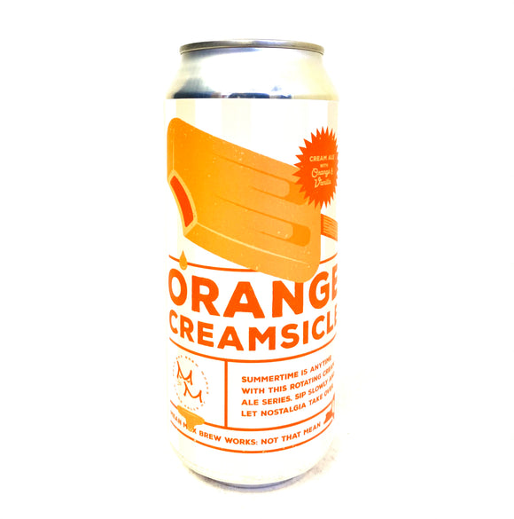 Mean Max - Orange Creamsicle Single CAN