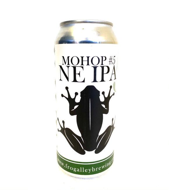 Frog Alley Brewing - MOHOP #5 NE IPA 4PK CANS