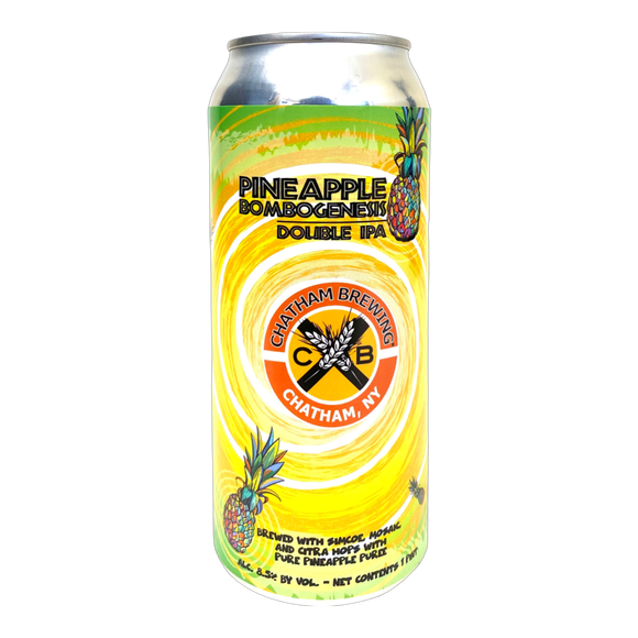Chatham Brewing - Pineapple Bombogenesis Double IPA 4PK CANS