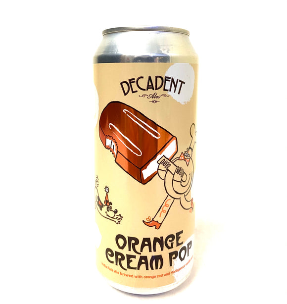 Decadent Ales - Orange Cream Pop Single CAN