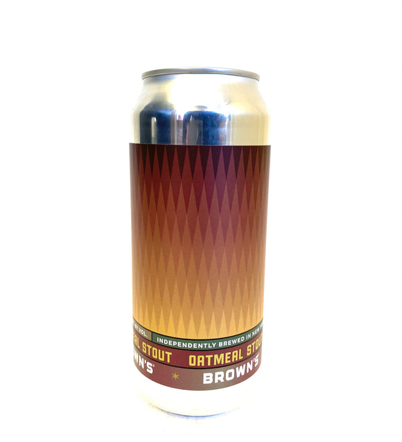 Brown's Brewing - Oatmeal Stout Single CAN