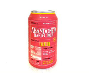 Abandoned Cider - Vacation 4PK CANS