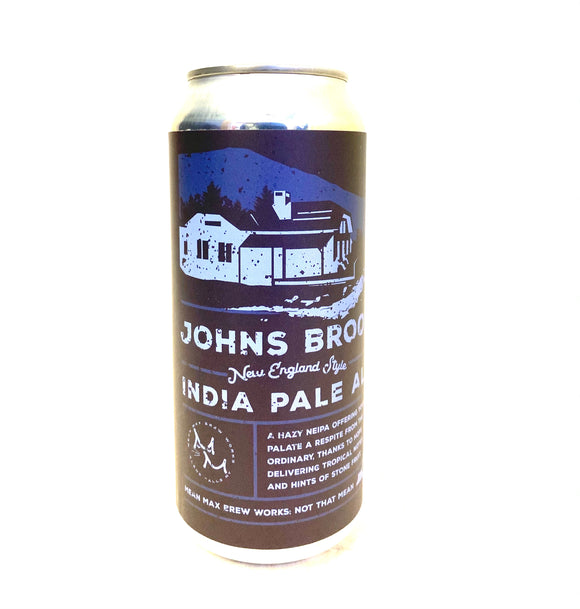 Mean Max - Johns Brook 4PK CANS