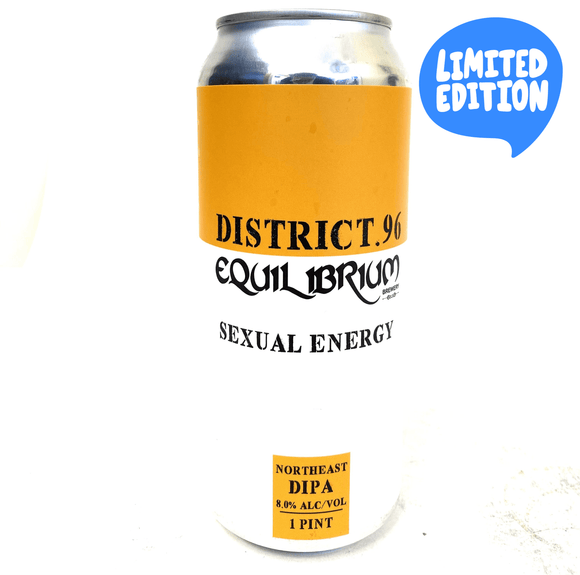 District 96 and Equilibrium - Sexual Energy 4PK CANS