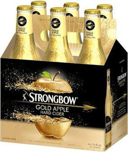 Strongbow Cider - Gold Apple 6PK BTL