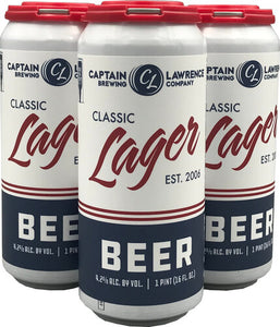 Captain Lawrence Brewing - Lager 4PK CANS - uptownbeverage