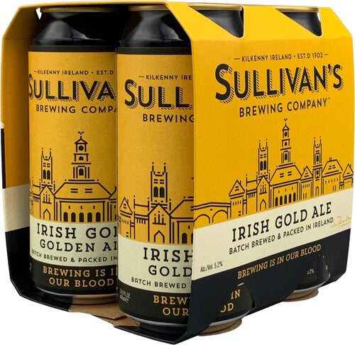 Sullivan's - Irish Gold Ale 4PK CANS