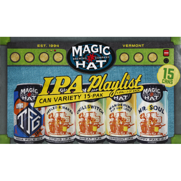 Magic Hat - IPA Playlist 15PK CANS - uptownbeverage