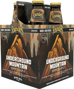 Founders Brewing - Underground Mountain Brown 4PK BTL - uptownbeverage