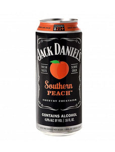 Jack Daniels - Southern Peach 4PK CANS - uptownbeverage
