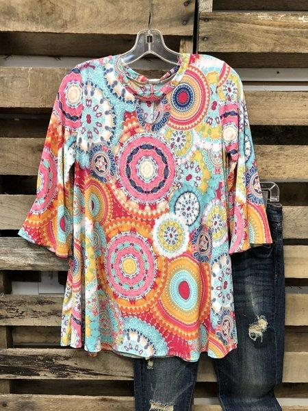 2020 Popular Color Short Sleeve Casual Tops