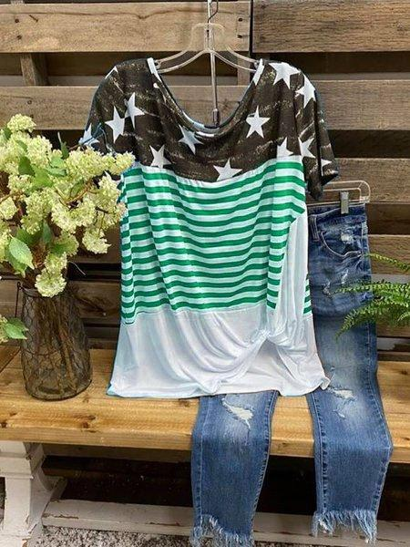 2020 New Casual Cotton O-Neck Tops