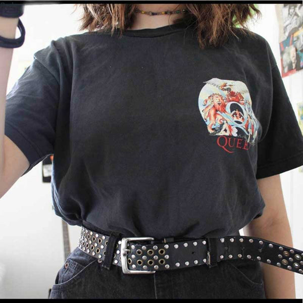 women fashion streetwear  graphic tops