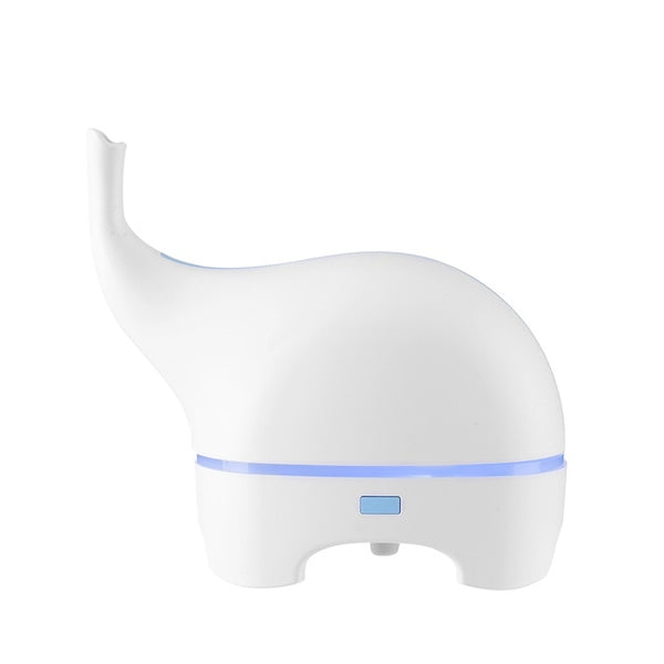 Elephant 5V USB Color LED Aroma Essential Oil Diffuser Humidifier